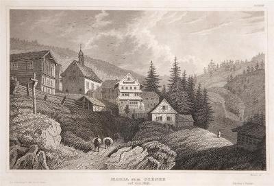 Rigi Maria Schnee, Meyer, oceloryt, 1850
