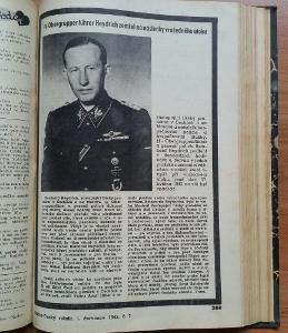 Atentát,Heydrich zemřel, knižní vázaný Rádce 1942