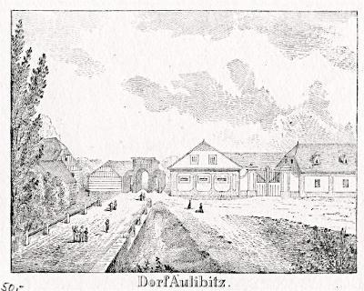 Oulibice, litografie, 1836