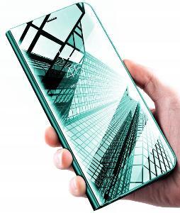 Samsung Galaxy A12 / M12, kryt chytrý obal pouzdro CLEAR VIEW hak37