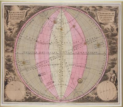 Haemisphaeria sphaerarum, kolor. mědiryt, 1708