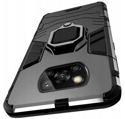 Xiaomi Poco X3 / X3 Pro, pouzdro obal kryt obrněný 3w1 Holder ring 12