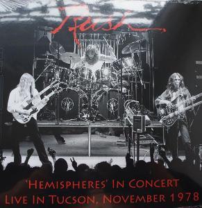 2 LP RUSH Live In TUTSON 1978 Raritní!
