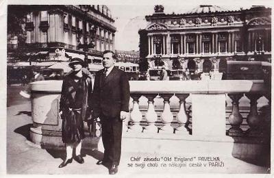 PARIS - ŠÉF ZÁVODU OLD ENGLAND -355-SQ53