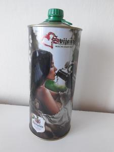 Pivní plechovka velká 2 L Svijany.
