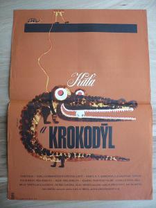 Káťa a krokodýl (filmový plakát, film ČSSR 1965, rež