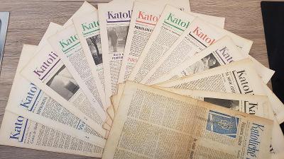 Katolické noviny rok 1968 duben až prosinec 38 čísel