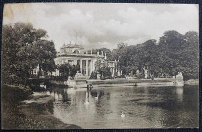 Varšava - 1913 - Palác v Lazienkach - 1913