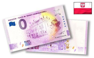 PL026 ● Euro Souvenir ● RZESZÓW - TEATR IM. WANDY SIEMASZKOWEJ [2021]