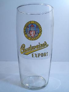 Pivní sklenice pivovar Budvar 05 0,5L