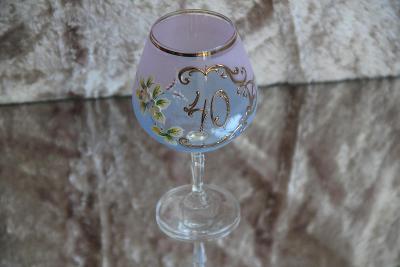 Jubilejní sklenice 40, Nový Bor