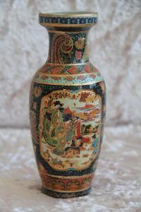 Ručně malovaná porcelánová váza