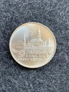 🌶  Stříbrná MINCE, 50 KČS ČESKÝ KRUMLOV - 1986