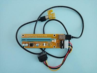 Riser PCI-E 1x to 16x