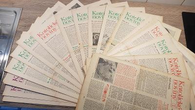 Katolické noviny rok 1970 51 čísel