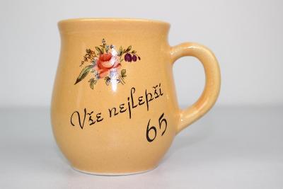 HEZKÝ HRNEK - HRNÍČEK - BUCLÁČEK K JUBILEU - VŠE NEJLEPŠÍ 65