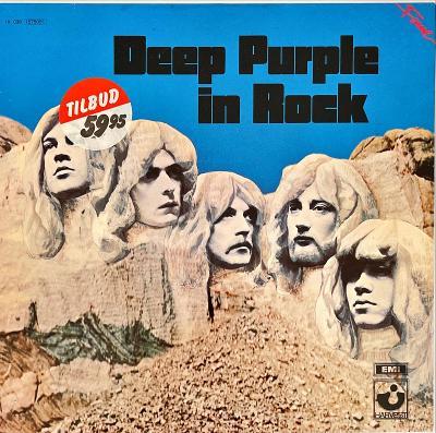 LP Deep Purple – Deep Purple In Rock, VG+, vypraná
