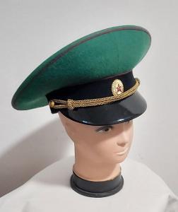 Čepice. Brigadyrka. Uniforma. Armáda. Pohraničník. SSSR. Rusko.