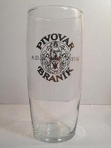 Pivní sklenice pivovar Braník 12 0,5L