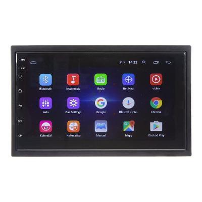 "2DIN autorádio s 7"" LCD, Android 8.1, WI-FI, GPS, Mirror link, Bluetoo"
