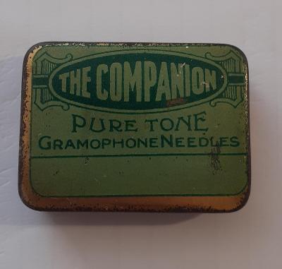 Krabička gramofonové jehly