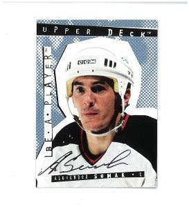 Alexander Semak - New Jersey Devils - autographed