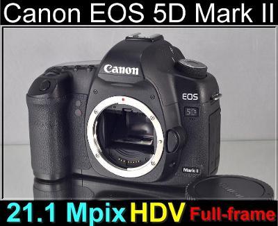 💥 Canon EOS 5D Mark II **full-frame*21,1MP, Full HDV*TOP👍11000 Exp.