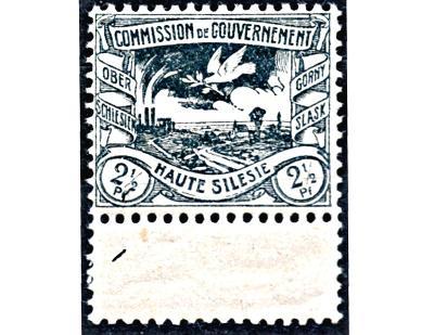 DR 1920, Horní Slezsko, slezské hutě, kupon