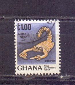 Ghana - Mich. č. 1001