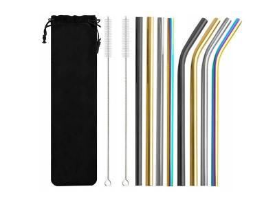 NEREZOVÁ BRČKA SADA 8ks + 2x kartáček na čištění barevné