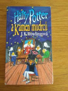 Harry Potter a Kámen mudrců !!!VZÁCNÉ 1.VYDÁNÍ!!!