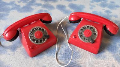 DĚTSKÉ TELEFONY RETRO ČSSR viz fotky