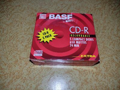 Prázdná krabice od CD-R BASF