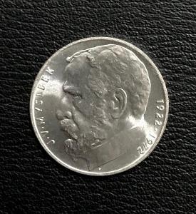 Stříbrná mince 50 Koruna 1972 -  JOSEF VÁCLAV MYSLBEK,Perfektní stav!