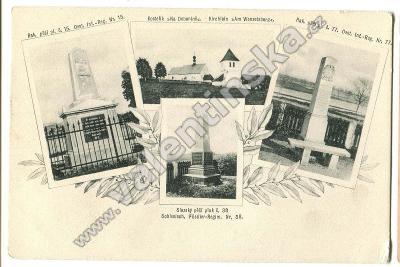 Václavice, Dobenín, Náchod, pomník válka 1866