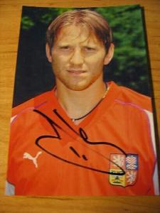 Tomáš Jun - ČR - orig. autogram