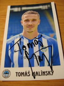 Tomáš Malínský - Liberec - orig. autogram
