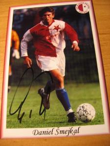 Daniel Šmejkal - Slavia Praha - orig. autogram