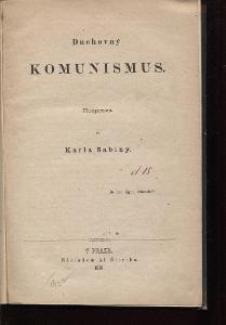 Duchovný komunismus (1861)
