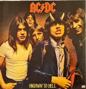 LP AC/DC – Highway To Hell, 1979, VG+, vypraná