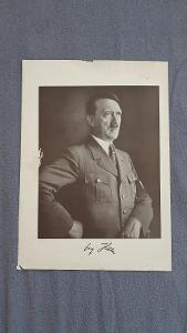 Úřední starožitný portrét Adolf Hitler z období 1933-1945