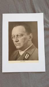 Úřední starožitný portrét Konrad Henlein 1933-1945