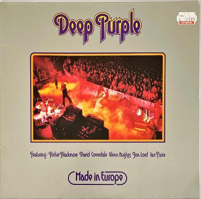 LP Deep Purple – Made In Europe, 1976, VG+++, vypraná