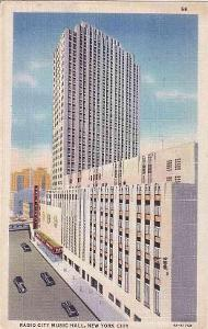 NEW YORK - RADIO CITY MUSIC HALL -431-SQ39