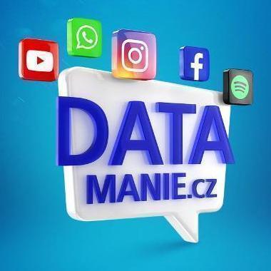 DATAMANIE - O2 SIM karta  100GB/300Kč/NOVÁ, NEROZBALENO