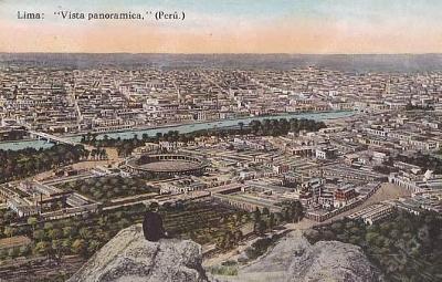 PERU - LIMA - PANORAMA -  25-JX34