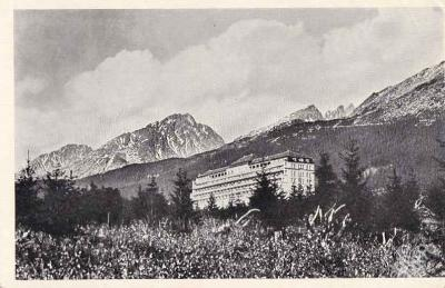 SLOVENSKO - TATRY - SMOKOVEC - SANATORIUM -24-SX63
