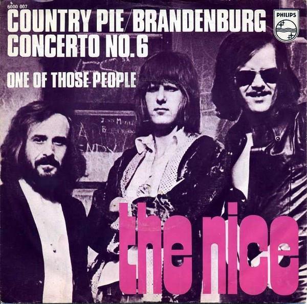 THE NICE-COUNTRY PIE 1970. - Hudba
