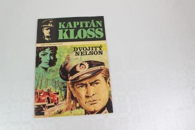 KAPITÁN KLOSS - DVOJITÝ NELSON - starý časopis - komiks 1973