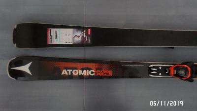 Nové sjezdové lyže Atomic Vantage X 75 C 163 cm + Lithium 10